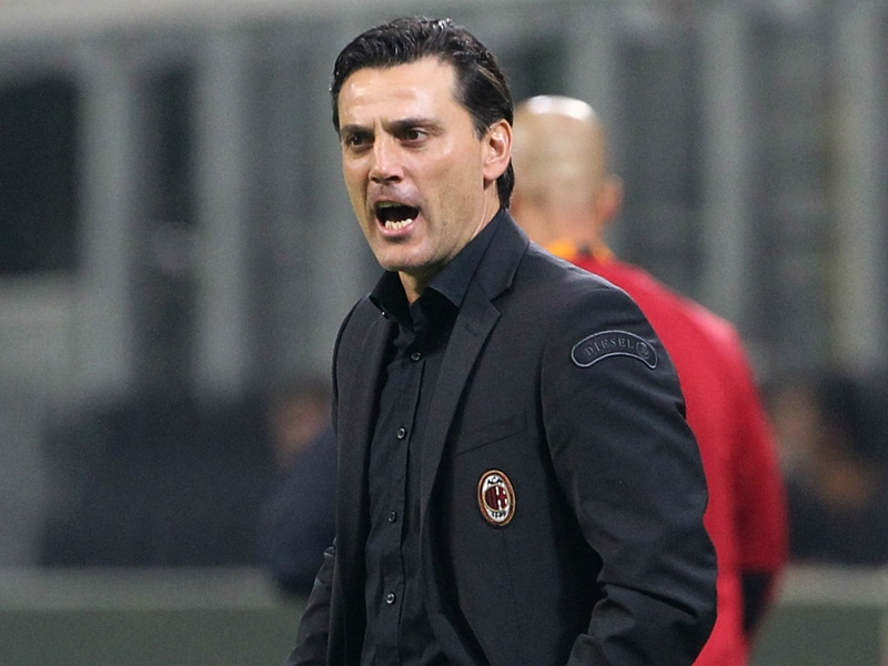 Under-fire Montella willing to accept 'exaggerated' Milan criticism