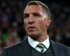 Celtic manager Brendan Rodgers looks on during the Champions League match against Bayern Munich.
