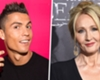 Cristiano Ronaldo loses Europe's best-paid celebrity crown to Harry Potter author J.K. Rowling