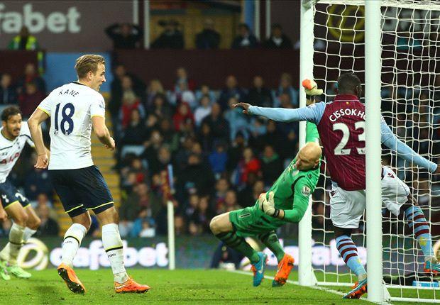 Aston Villa 1-2 Tottenham: Los Spurs sacan oro de Villa Park