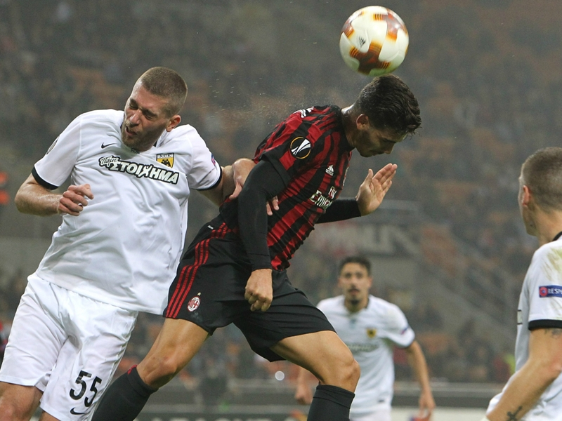 AC Milan 0 AEK Athens 0: Frustration mounts for Montella in dour draw