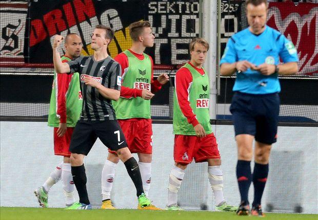 Köln verlor gegen Freiburg, die nun im Abstiegskampf wieder hoffen