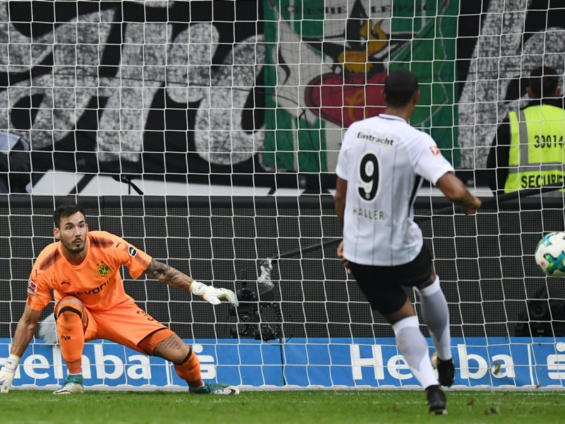 Eintracht Frankfurt 2 Borussia Dortmund 2: Bosz's men stunned by comeback