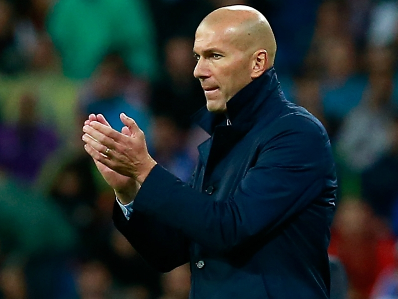 Zidane rejects 'best coach in the world' tag