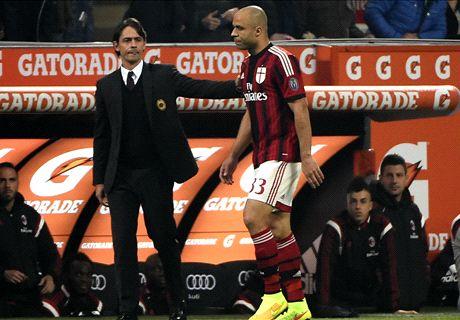 Emergenza Milan: anche Alex salta il derby