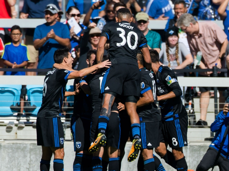 Late drama sees the San Jose Earthquakes clinch final MLS playoff spot