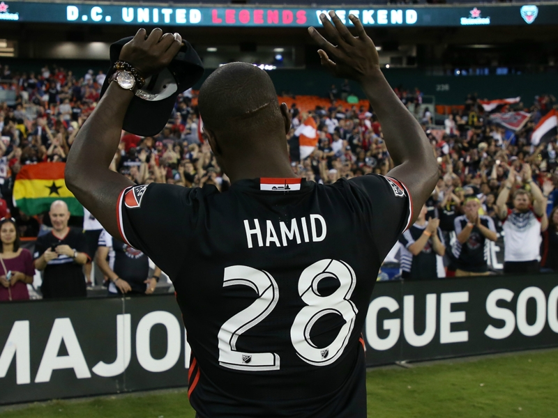 Europe-bound Hamid bids quiet farewell to D.C. United as RFK Stadium takes center stage