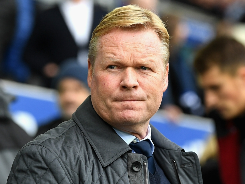 Netherlands appoint Koeman as new head coach