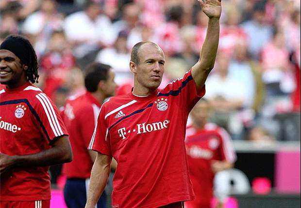 Bayern Munich Winger Arjen Robben - I'm Fit And Ready For The Game Against Juventus