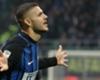 Inter striker Mauro Icardi celebrates a goal against Sampdoria