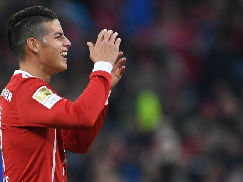 James Rodriguez est heureux au Bayern Munich