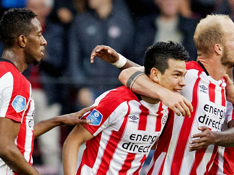 Is Hirving Lozano's start for PSV the best ever for a Mexican abroad?