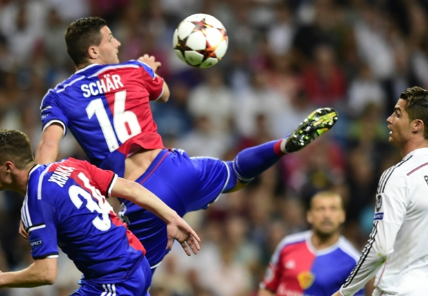 Basel deserved a draw against Real Madrid - Schar