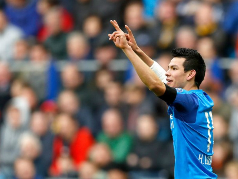 Mexicans Abroad Minute: Hirving Lozano, Chicharito score to continue strong starts