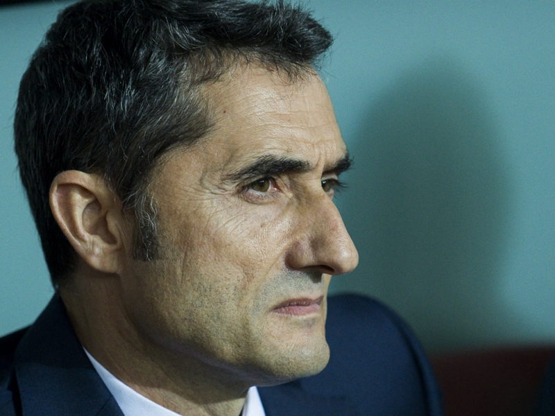 Olympiacos 0 Barcelona 0: Valverde frustrated on return to Greece