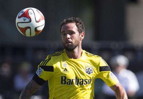 Crew midfielder Paladini suspended