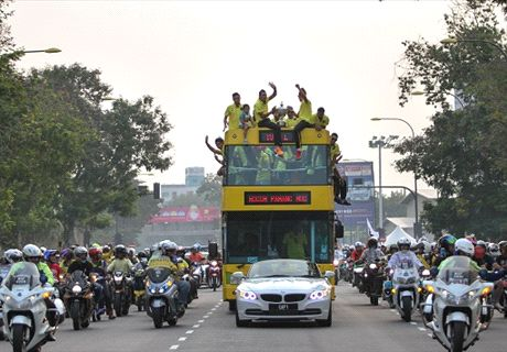 Celebrations in Kuantan for Pahang FA