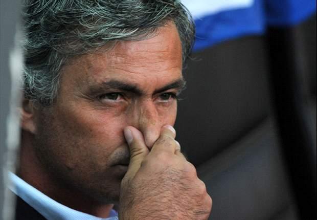 Inter Coach Jose Mourinho Maintains Press Silence