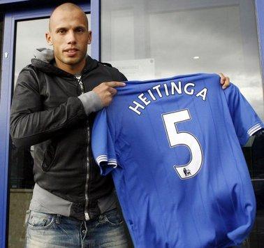 John Heitinga - Everton (PA)