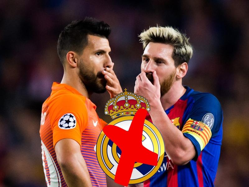 """Aguero : """"Jouer avec Messi en club ? C'est impossible"""""""