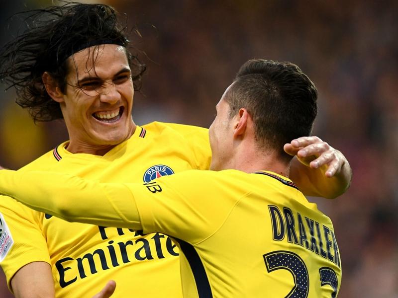 Cavani passes century of Ligue 1 goals for PSG