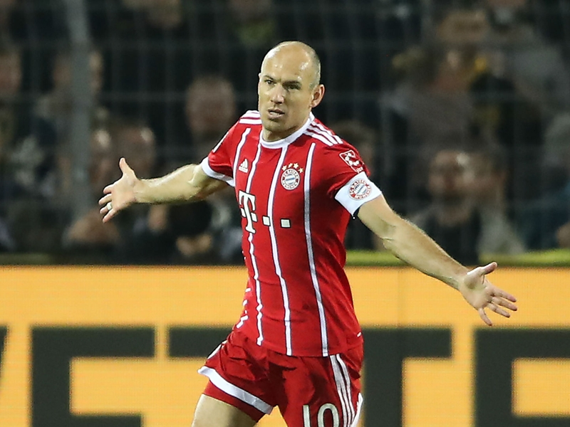 Robben breaks Bayern record for Bundesliga goals by a foreign player