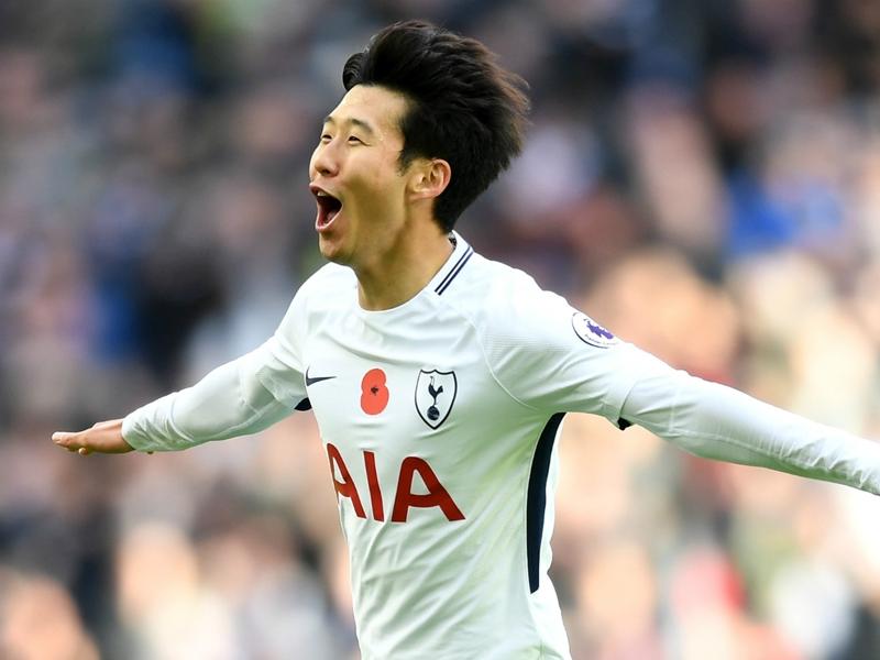 Son strike gives Tottenham hard-fought Palace win