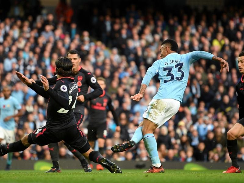 Gabriel Jesus boasts best strike rate in Premier League history