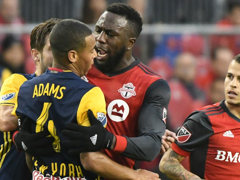 The MLS Wrap: TFC survives Red Bulls dogfight, Dynamo win war of attrition and more