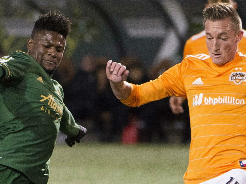 Dynamo down Timbers en route to Western Conference final