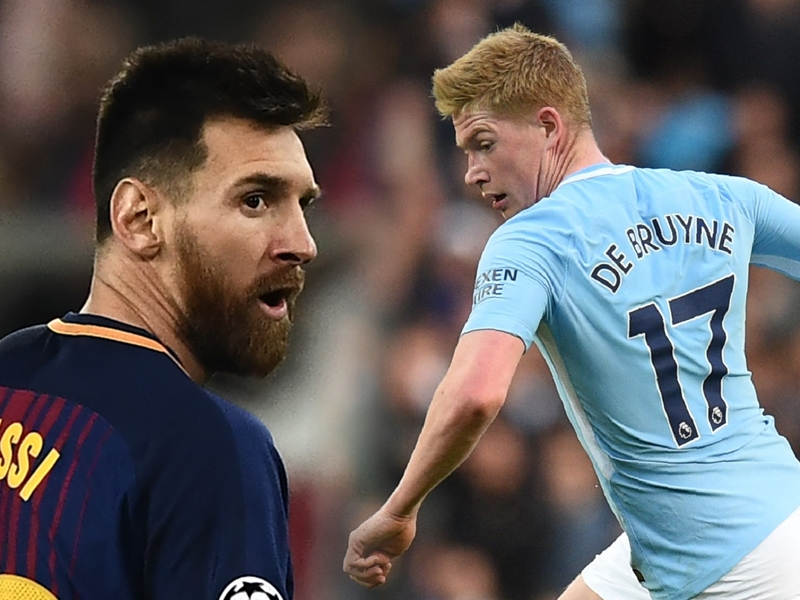 'De Bruyne can match Messi and Ronaldo' - Martinez hails Man City star