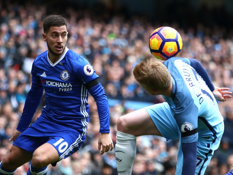 De Bruyne the best in the Premier League, says Hazard