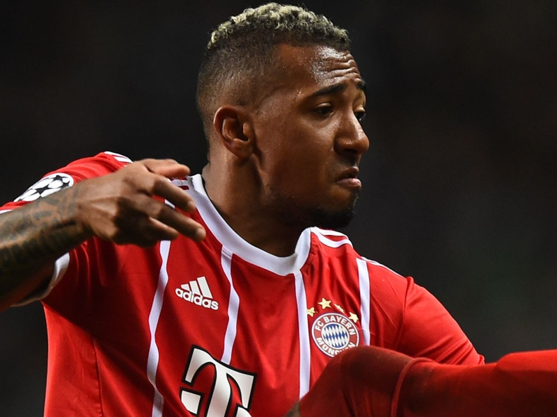 Bayern's Jerome Boateng names his favourite defenders