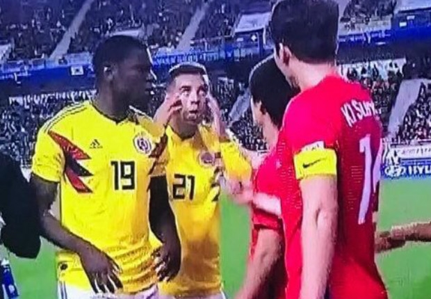 Racist gesture the latest scandal for Edwin Cardona, the 'big baby' who just can't stay out of trouble