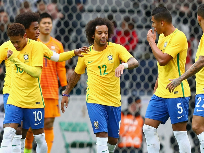 Japan 1 Brazil 3: Marcelo scores stunner in comfortable triumph