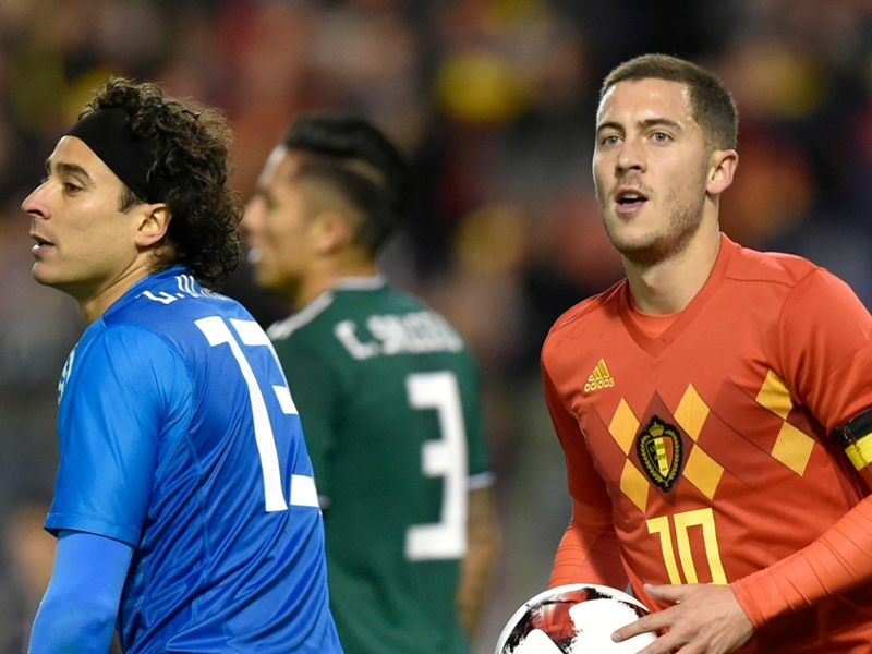 Belgium held in six-goal thriller with Mexico