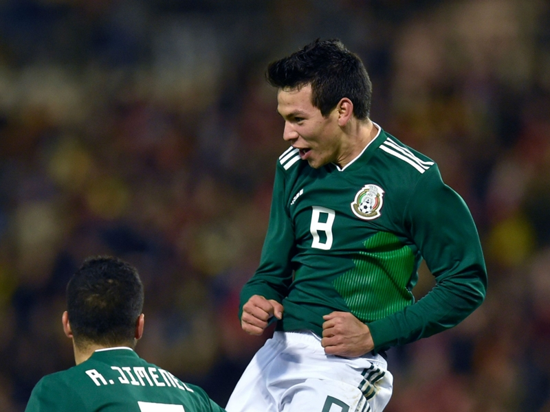 Hirving Lozano solidifies Mexico star status with double vs. Belgium