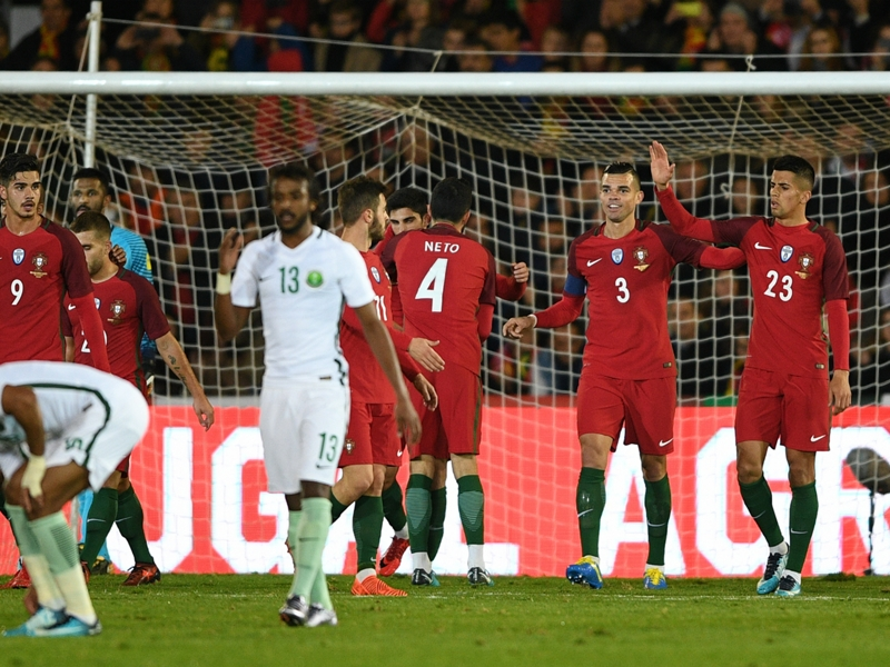 Portugal 3 Saudi Arabia 0: Guedes stars in Ronaldo's absence