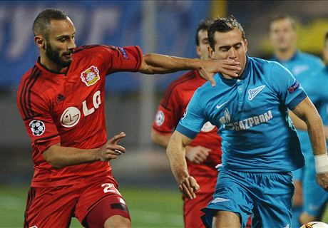 Player Ratings: Zenit 1-2 Leverkusen