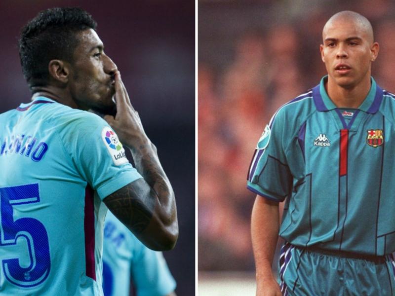 Ronaldo taught Paulinho 'a lot' as Brazilian makes his own mark at Barcelona