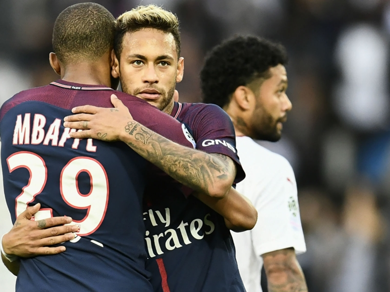 He feels good here – Mbappe adamant Neymar is happy at PSG