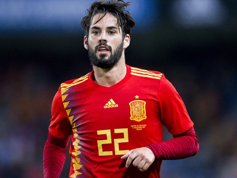 Real Madrid star Isco one of world's best, says Spain boss Lopetegui