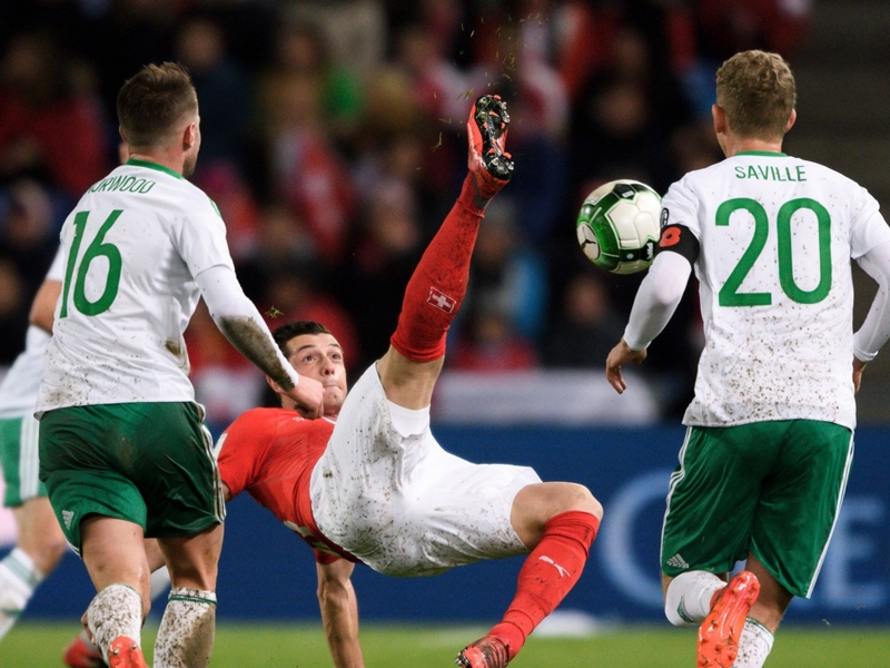 LIVE: Switzerland vs Northern Ireland
