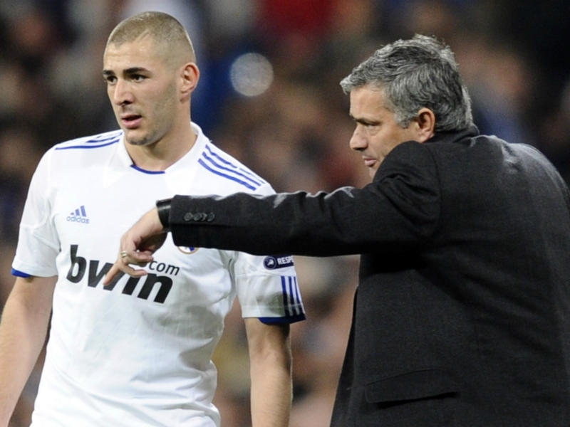 Benzema demanded respect from Mourinho in hour-long showdown talks after he made fun of him