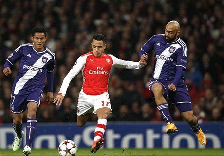 Player Ratings: Arsenal 3-3 Anderlecht