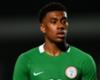 Nigeria forward Alex Iwobi