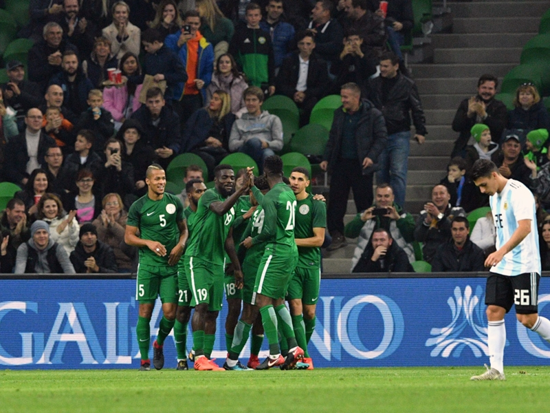 Veron wary of Nigeria threat, expects smooth Argentina World Cup 2018 ride