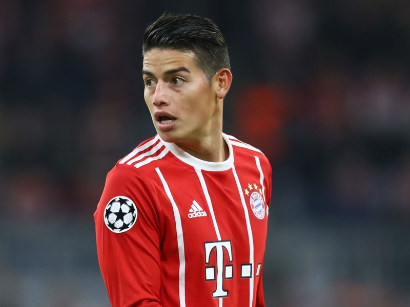 James puts focus on Bayern after cutting Colombia duty short