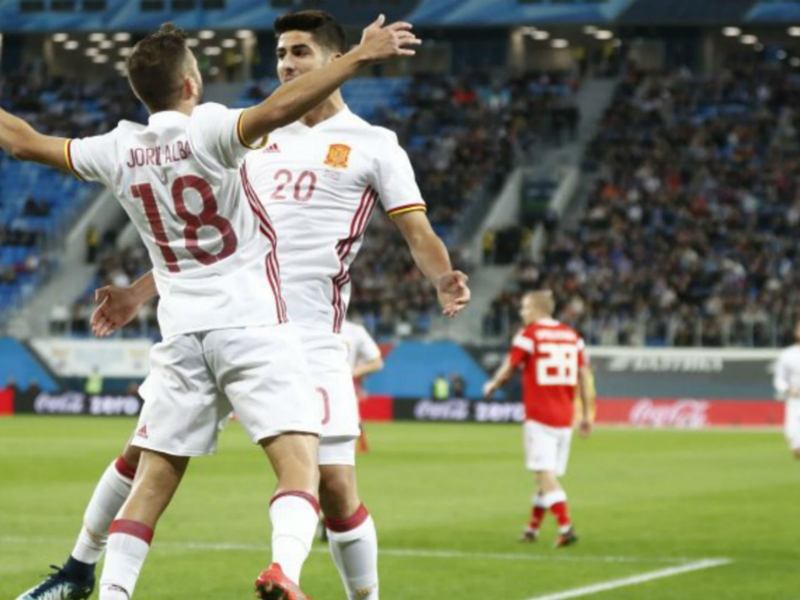 Russia 3 Spain 3: Visitors squander two-goal lead as Smolov & Ramos net braces