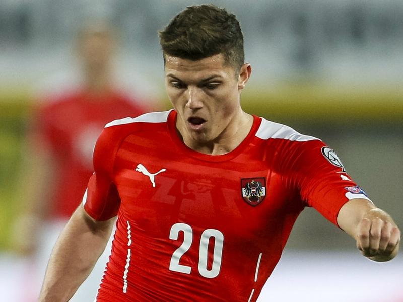 Austria 2 Uruguay 1: Sabitzer & Schaub cancel out Cavani strike